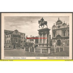 AK - Venezia - The Monument of Bartolomeo Colleoni (Italien)