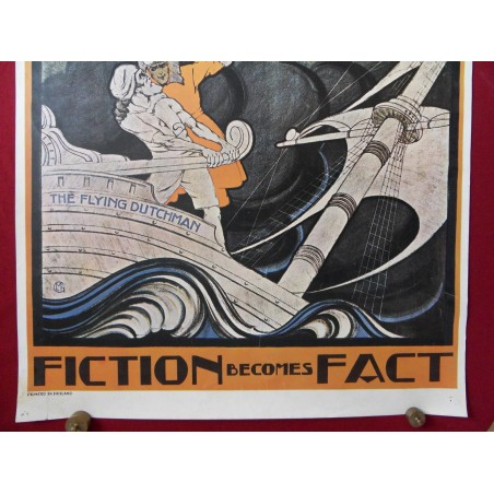 ORIGINAL PLAKAT FICTION BECOMES FACT