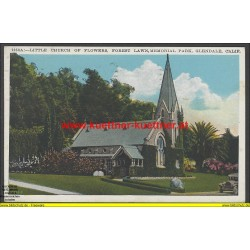 AK - Little Church of Flowers, forest Lawn, Memorial Park, Glendale, California