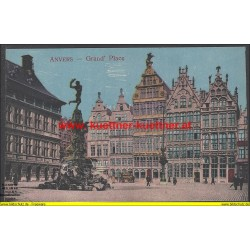 AK - Anvers - Grand´ Place (Belgien)