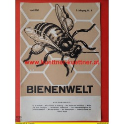 Bienenwelt 3. Jg. Nr. 4 - April 1961