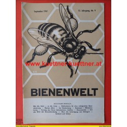 Bienenwelt 3. Jg. Nr. 9 - September 1961
