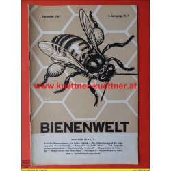 Bienenwelt 4. Jg. Nr. 9 - September 1962