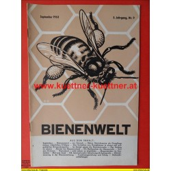 Bienenwelt 5. Jg. Nr. 9 - September 1963