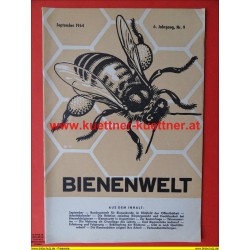 Bienenwelt 6. Jg. Nr. 9 - September 1964
