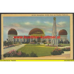 AK - Planetarium, Griffith Park, Los Angeles, California