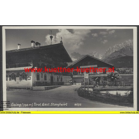 AK - Going - Gasthaus Stanglwirt (T)