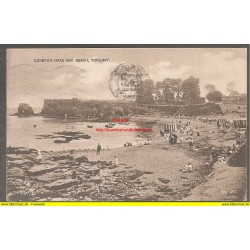 AK - Corbyn´s head and beach - Torquay - 1929 (GB)
